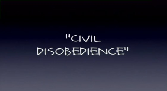 civil disobedience analysis Resistance to civil government (civil disobedience) is an essay by american transcendentalist  thoreau contends that such a cost/benefit analysis is inappropriate when the government is actively facilitating an injustice as extreme as.