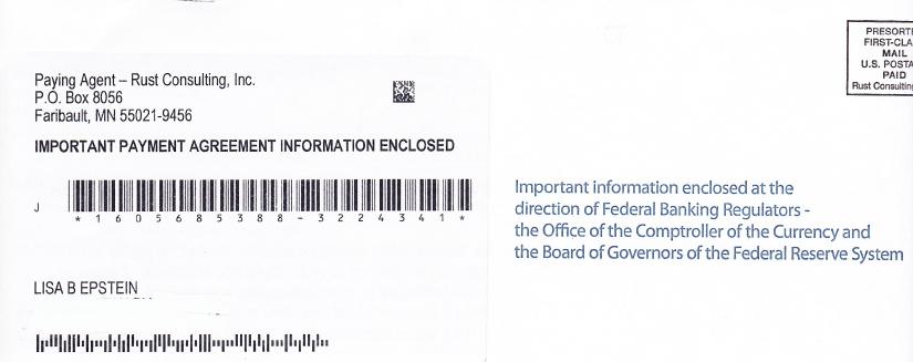 OCC Envelope