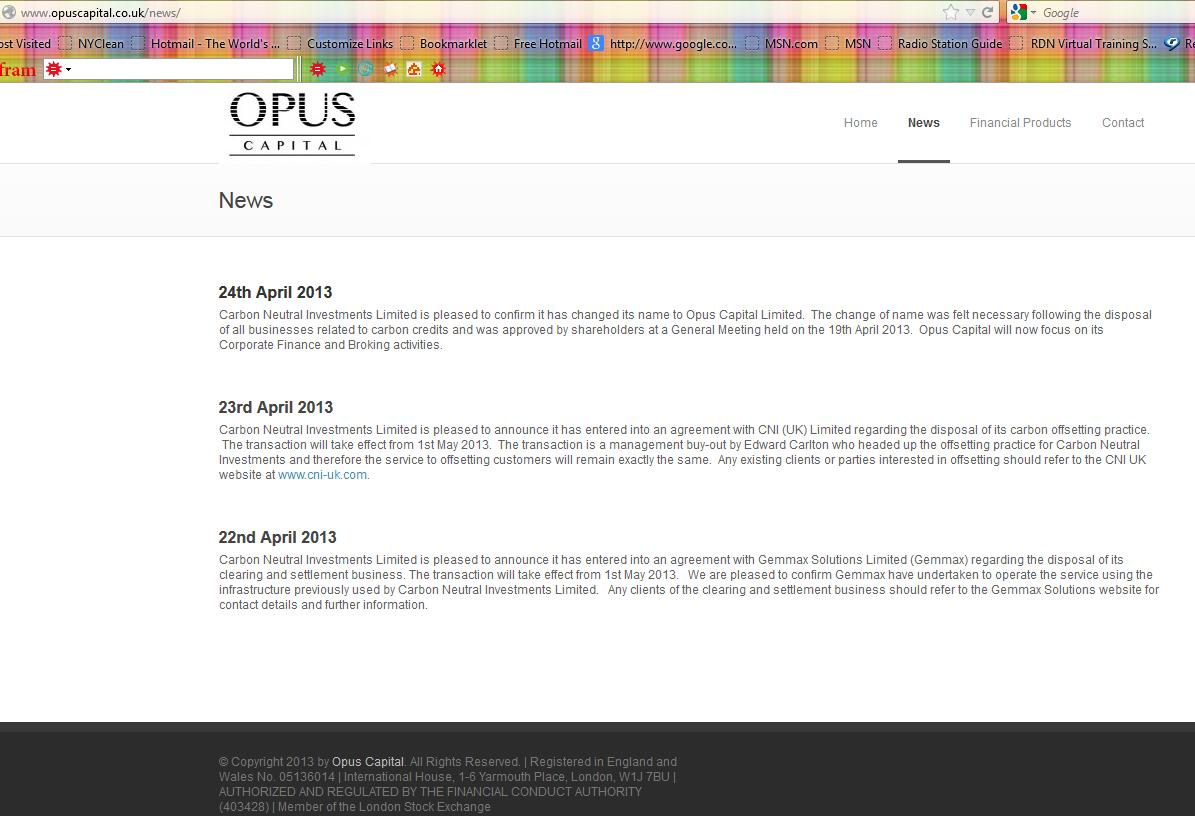 Opus Capital Capture