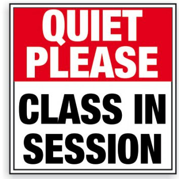 Keynesian class in session sign