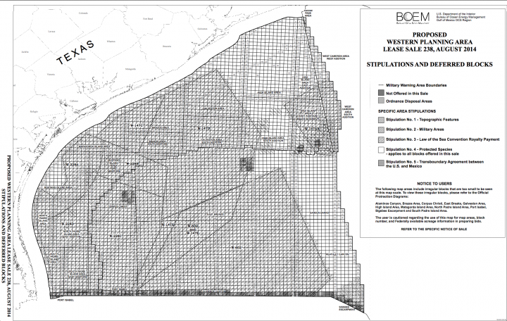 oil and gas leases map