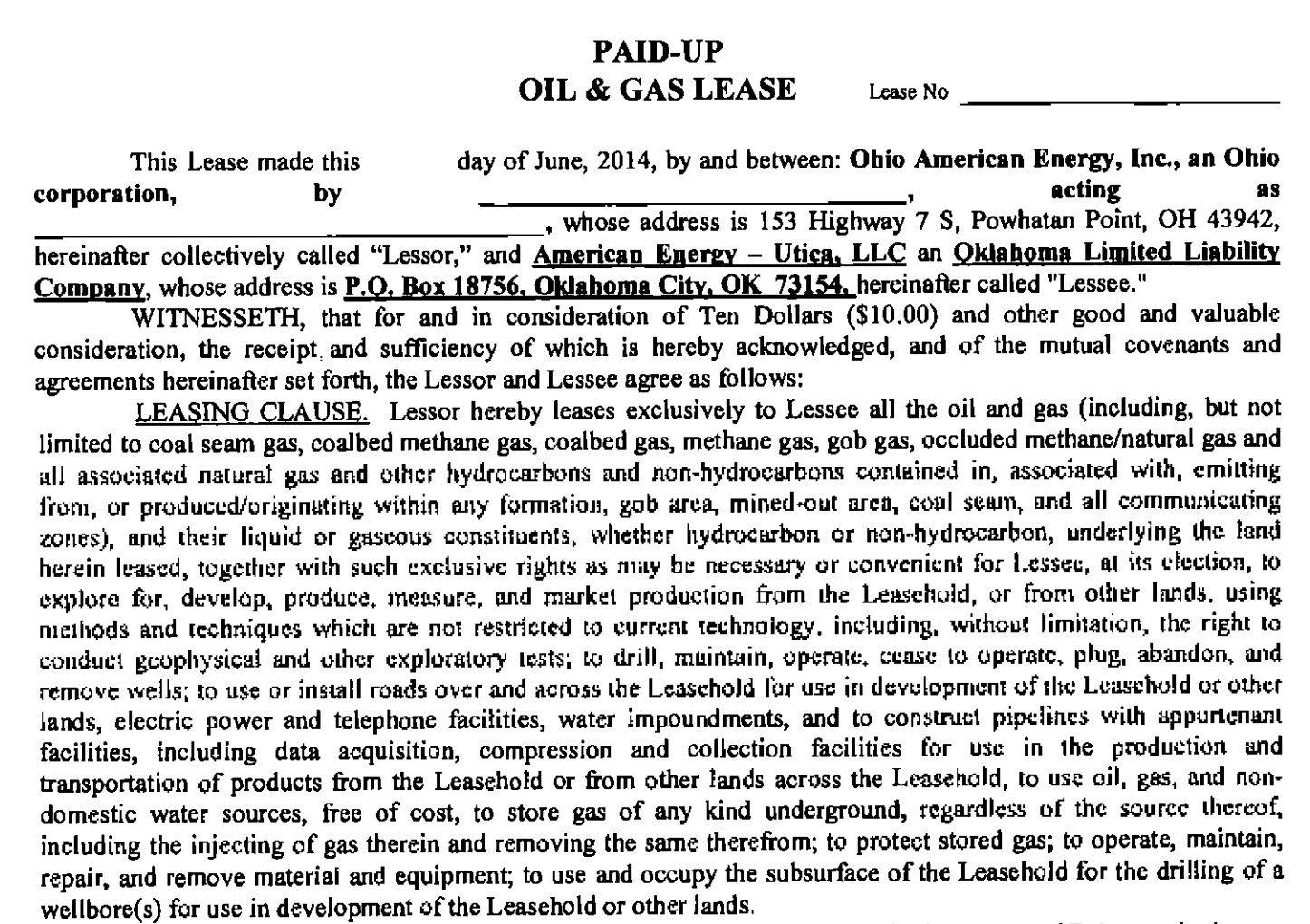 How Oil and Gas Leases for Fracking Rip Off Homeowners – Sample Subordination Agreement