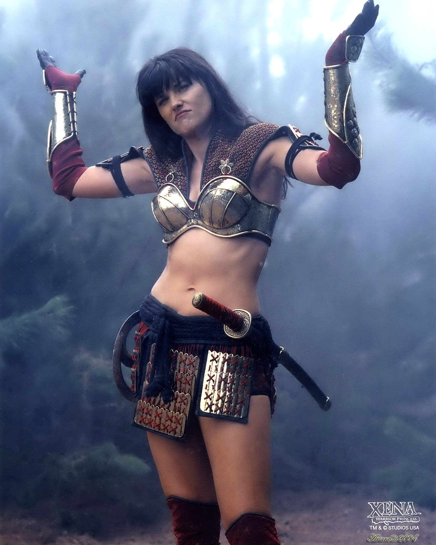naked images of the actress who played xena