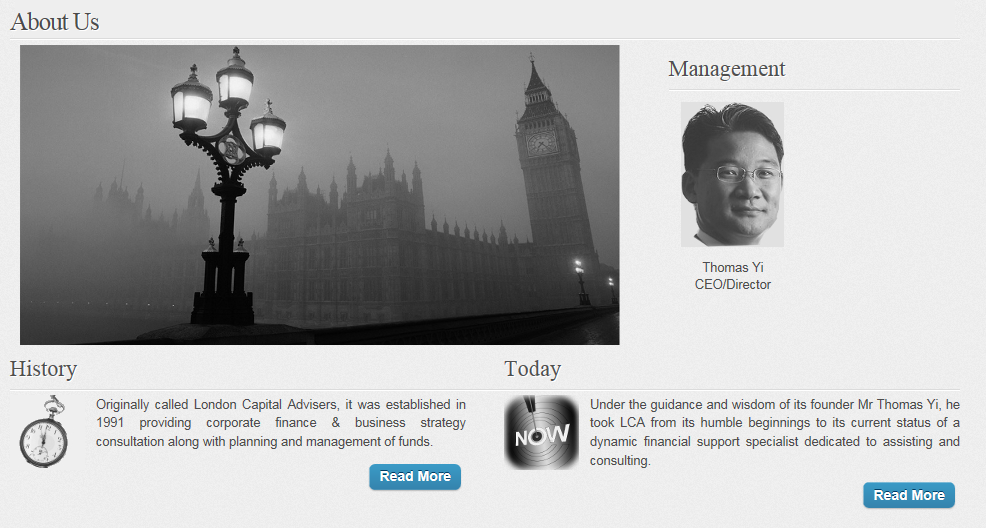 London Capital new founders Capture
