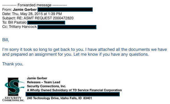 Proof Of Ongoing Foreclosure Fraud And Mortgage Document Fabrication, In  Five Emails | Naked Capitalism