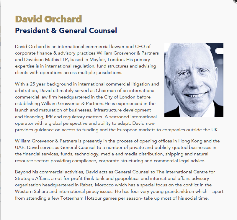 William Grosvenor David Orchard Capture