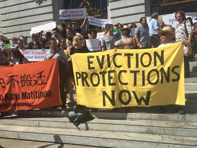 SF protestors