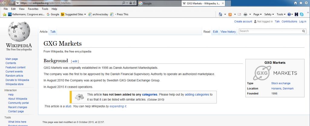 Wikipedia 8 October 2015 Capture