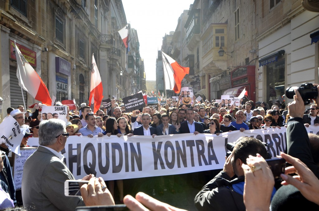 Malta protests