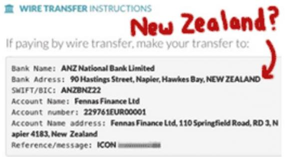 ANZ account info