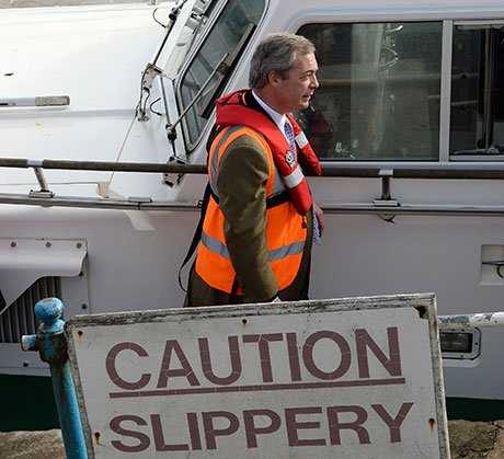 Farage Caution