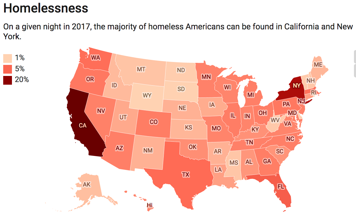 Why Are There So Many Unsheltered Homeless People in