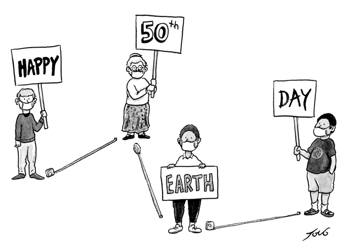 Our Extraordinary 50th Earth Day 2