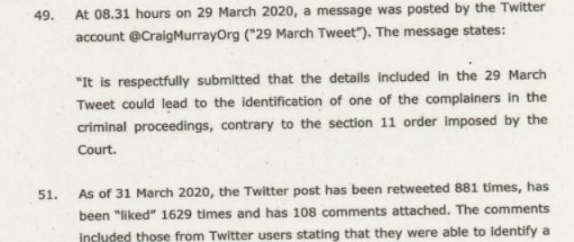 Craig Murray Documents Abuse of Process, aka Kangaroo Court, via Butchered Indictment 3