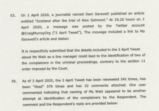 Craig Murray Documents Abuse of Process, aka Kangaroo Court, via Butchered Indictment 4