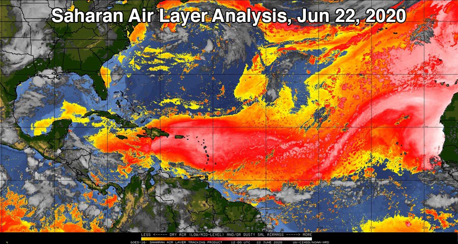 Saharan Dust Storm Expected To Cause Dangerous Air Pollution in U.S. This Week 4