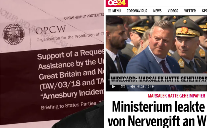 Austria Confirms OPCW Report On Skripal Faking by the British – Vienna Exposes Financial Times Lies and Cover-Up 2