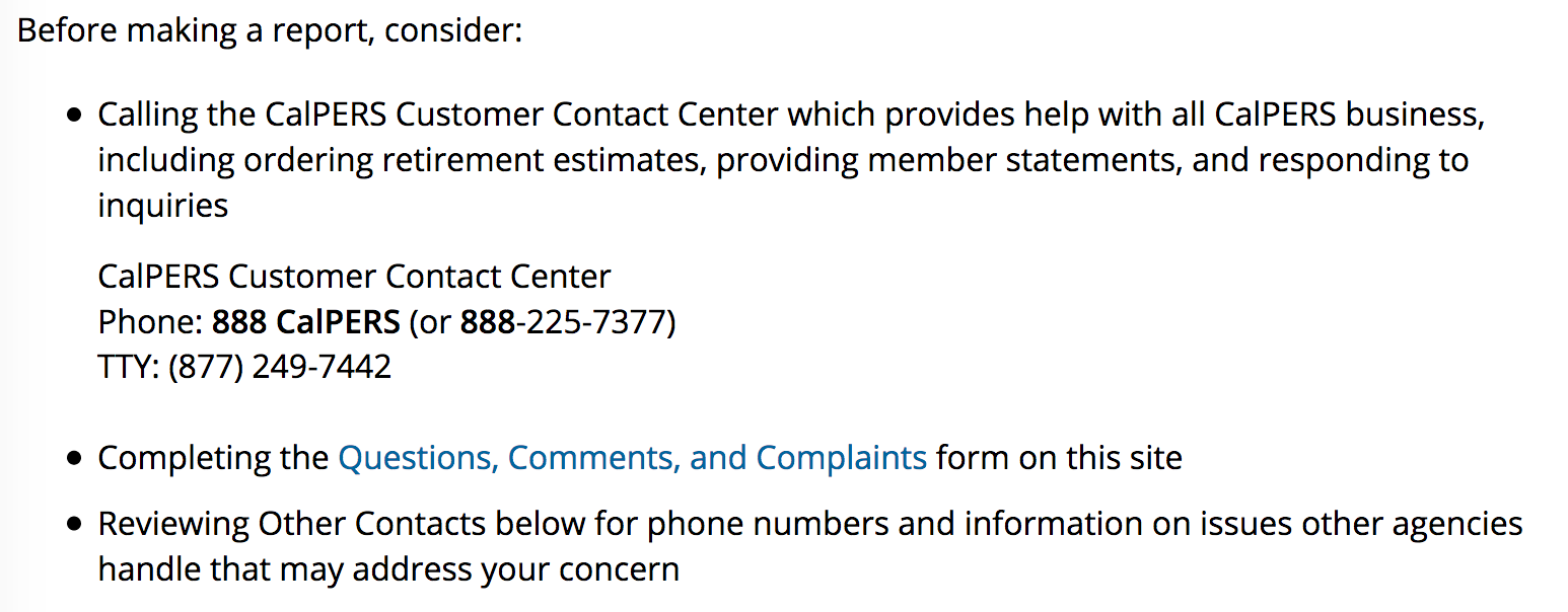 How CalPERS Staff Keeps the Board in the Dark About Compliance Problems 3