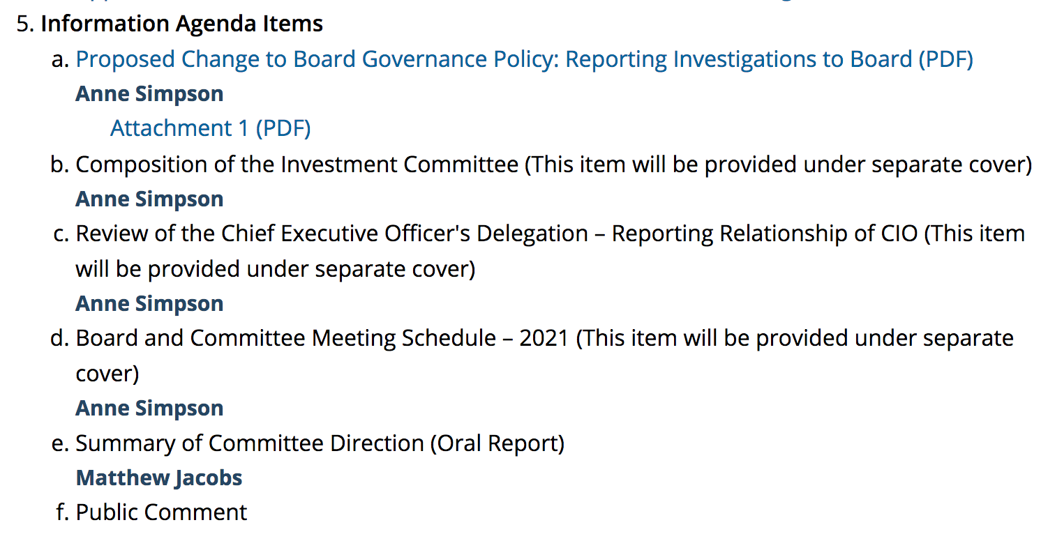 CalPERS Staff Yet Again Tries to Usurp Board's Power by Steering Governance Reforms After CIO Ben Meng Departure 2