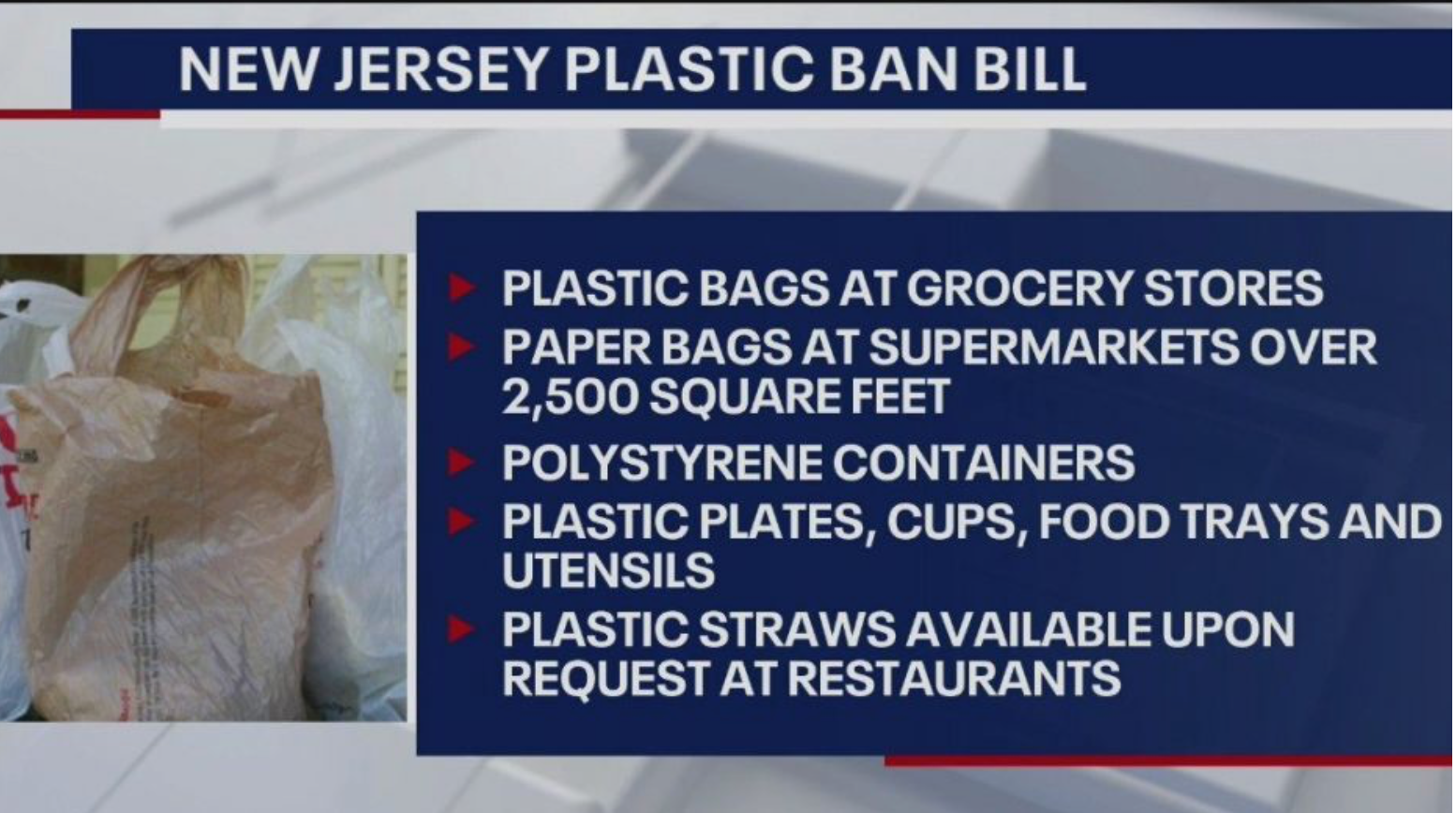 """New Jersey's """"Best in US"""" Plastic Ban Still Very Limited, Makes Concessions 1"""