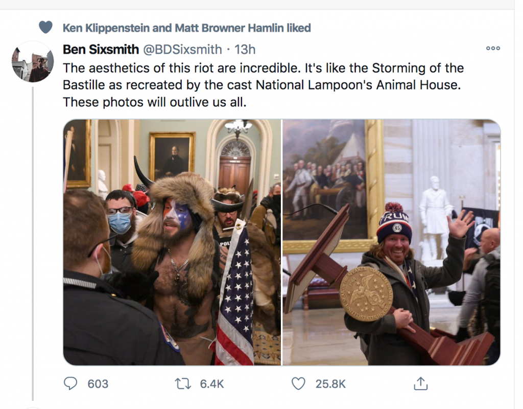 MAGA Cosplayers Seize Capitol While Cops Flounder 1