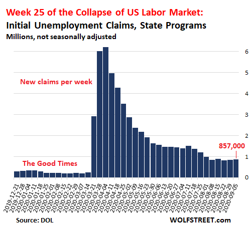Wolf Richter: Unemployment Crisis Going in Wrong Direction: Week 25 of U.S. Labor Market Collapse 2